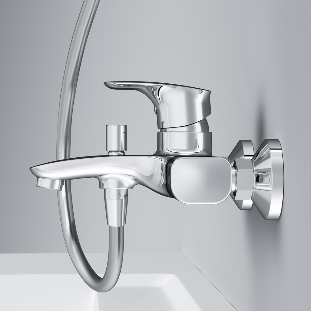 F71A100W0 Single-lever bath and shower mixer