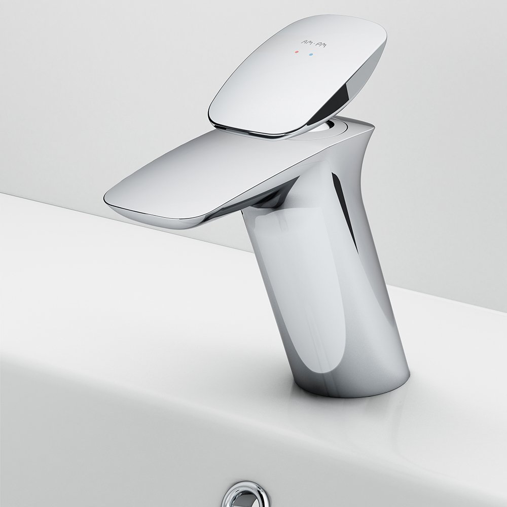 F70A821W0 Single-lever basin mixer with waste set