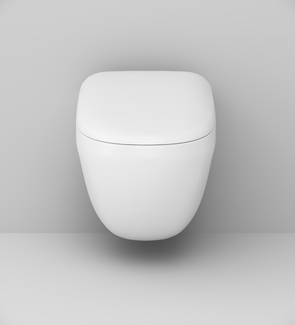 C301700WH Wall-hung rimless WC FlashClean