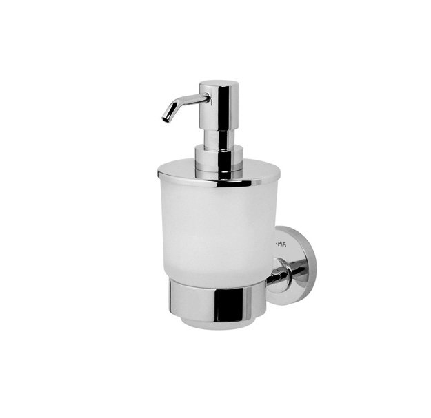 A5536900 Glass soap dispenser with holder